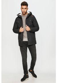 Szary sweter PRODUKT by Jack & Jones casualowy, z okrągłym kołnierzem #5