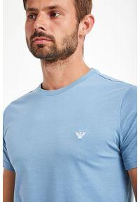 T-shirt Emporio Armani Swimwear w kolorowe wzory, elegancki