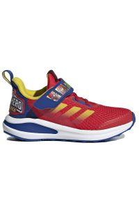 Adidas - adidas FortaRun Super Hero > FY1647. Zapięcie: rzepy. Materiał: guma. Szerokość cholewki: normalna. Wzór: motyw z bajki. Model: Adidas Cloudfoam. Sport: bieganie