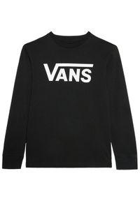 Vans Bluzka Classic Ls VN000XOI Czarny Classic Fit. Kolor: czarny