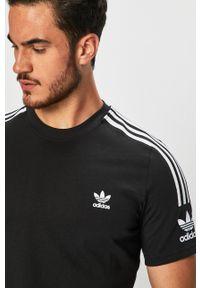 adidas Originals - T-shirt. Okazja: na co dzień. Kolor: czarny. Materiał: dzianina. Styl: casual