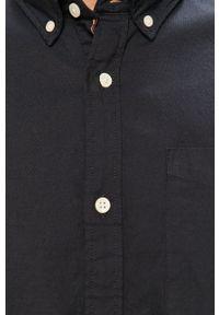 Niebieska koszula Jack & Jones casualowa, na co dzień