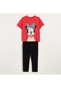 Bawełniana piżama Minnie Mouse - Czerwony
