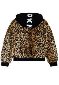Brązowa kurtka przejściowa DKNY