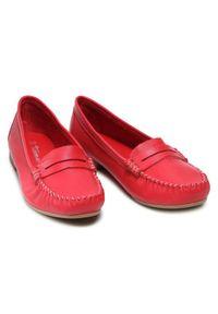Tamaris Mokasyny 1-24213-26 Czerwony. Kolor: czerwony