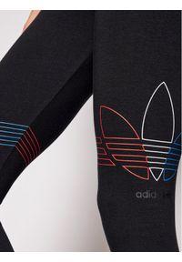 Adidas - adidas Legginsy adicolor Tricolor GN2867 Czarny Slim Fit. Kolor: czarny #4