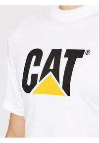 CATerpillar T-Shirt 2511243 Biały Regular Fit. Kolor: biały