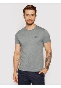 La Martina T-Shirt Jersey CCMR02 JS206 Szary Regular Fit. Kolor: szary. Materiał: jersey