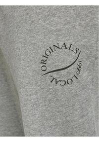 Jack & Jones - Jack&Jones Spodnie dresowe Elias 12195676 Szary Comfort Fit. Kolor: szary. Materiał: dresówka