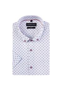 Koszula Giacomo Conti krótka, paisley, na lato, z krótkim rękawem