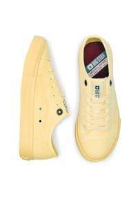 Big-Star - Tenisówki BIG STAR - DD274441 Yellow. Okazja: na co dzień. Kolor: żółty. Materiał: materiał. Szerokość cholewki: normalna. Styl: casual