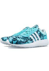 Sneakersy Adidas w kwiaty, z paskami, z cholewką