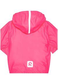 Reima Kurtka przeciwdeszczowa 521491 Różowy Regular Fit. Kolor: różowy