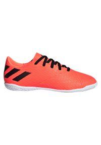 Adidas - Buty halowe dla dzieci adidas Nemeziz 19.4 IN Jr EH0506. Zapięcie: sznurówki. Materiał: syntetyk. Szerokość cholewki: normalna. Sport: piłka nożna