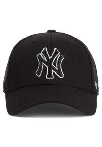 47 Brand - Czapka z daszkiem 47 BRAND - New York Yankees B-MVPSP17WBP-BKC Black. Kolor: czarny. Materiał: materiał, wełna, akryl