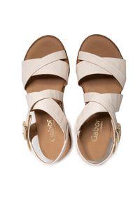 Beżowe sandały Gabor
