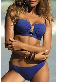 Niebieski strój kąpielowy dwuczęściowy IVET