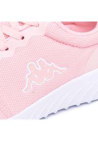 Kappa - Sneakersy KAPPA - Ces Nc 242685NC Rose/White 2110. Okazja: na co dzień. Kolor: różowy. Materiał: materiał. Szerokość cholewki: normalna. Sezon: lato. Obcas: na płaskiej podeszwie. Styl: casual