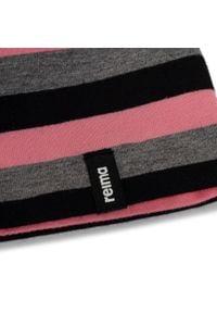 Reima - Czapka REIMA - Tanssi 538056 4561. Kolor: różowy. Materiał: elastan, materiał, bawełna