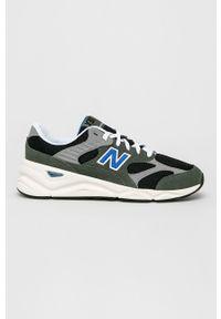 Zielone sneakersy New Balance z cholewką, na sznurówki