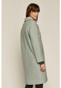 Turkusowy płaszcz medicine klasyczny, bez kaptura