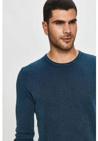 Niebieski sweter Only & Sons casualowy, na co dzień
