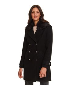 Czarny płaszcz TOP SECRET