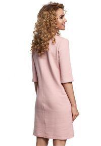 Sukienka MOE na co dzień, asymetryczna, casualowa