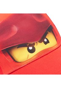 Czerwona czapka z daszkiem LEGO Wear