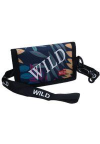 ALWAYS WILD - Portfel sportowy z materiału Always Wild 2028-WILD-5662. Materiał: materiał
