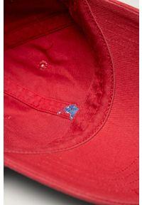 Czerwona czapka z daszkiem Polo Ralph Lauren