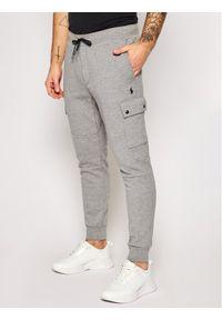 Polo Ralph Lauren Spodnie dresowe Classics 710730495005 Szary Regular Fit. Kolor: szary. Materiał: dresówka