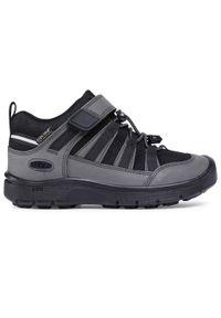 Czarne buty trekkingowe keen z cholewką