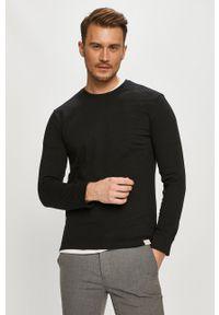 Czarna bluza nierozpinana Only & Sons na co dzień, bez kaptura, casualowa