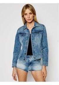 G-Star RAW - G-Star Raw Kurtka jeansowa Elto Pure Stretch D17437-C052-C293 Niebieski Slim Fit. Kolor: niebieski. Materiał: jeans