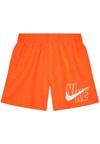 Pomarańczowe szorty Nike