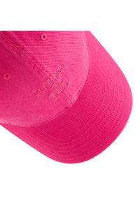 Superdry Czapka z daszkiem Baseball Cap W9010105A Różowy. Kolor: różowy #2