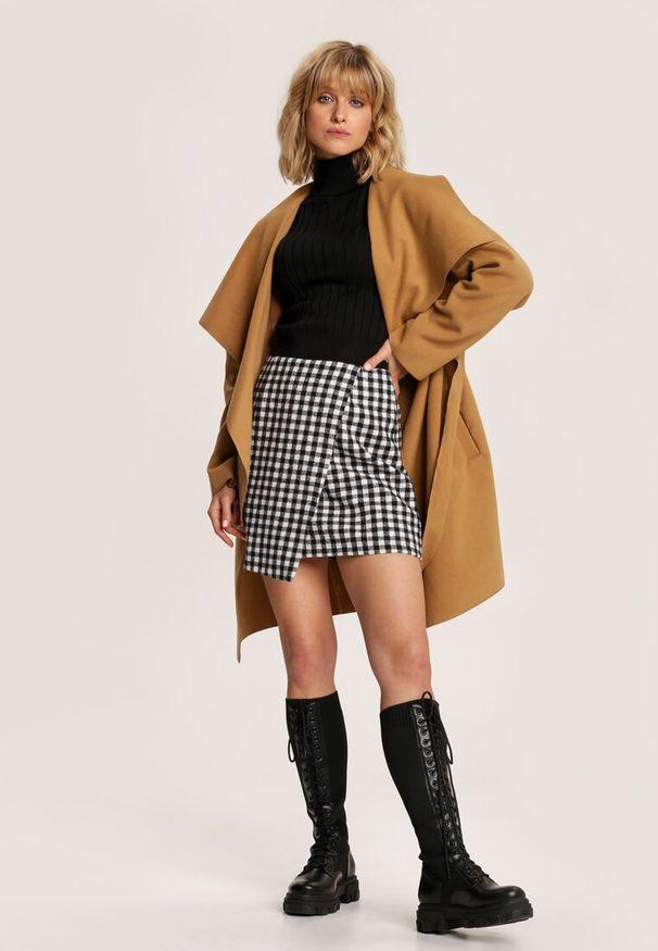 Brązowy krótki płaszcz Renee
