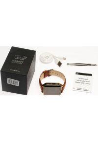 Złoty zegarek GARETT smartwatch, klasyczny #5