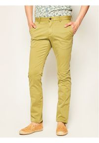 Zielone spodnie TOMMY HILFIGER