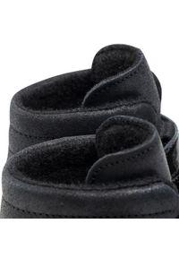 Bartek - Trzewiki BARTEK - 1385-SLBP Czarny. Kolor: czarny. Materiał: skóra, lakier. Szerokość cholewki: normalna. Wzór: aplikacja. Styl: młodzieżowy