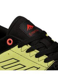 Czarne buty sportowe Emerica z cholewką