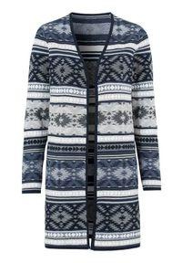Niebieski sweter Cellbes długi, z długim rękawem