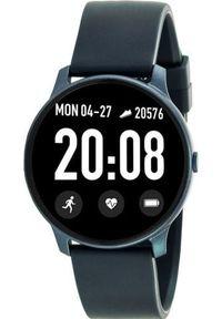 Niebieski zegarek Rubicon smartwatch