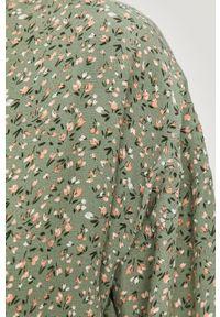 Miętowa sukienka Answear Lab mini, na co dzień