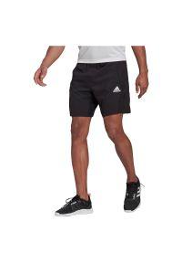 Adidas - Spodenki męskie treningowe adidas Aeroready GT8161. Materiał: skóra, poliester, materiał. Sport: fitness