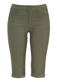 Freequent Długie szorty z bengaliny Amie oliwkowy female zielony L (42). Kolor: zielony. Długość: długie. Styl: elegancki