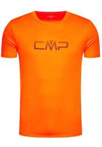 Pomarańczowa koszulka sportowa CMP