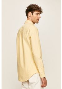 Polo Ralph Lauren - Koszula. Typ kołnierza: polo. Kolor: żółty
