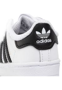 Białe półbuty Adidas z cholewką